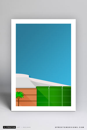 Minimalist Honda Center - Anaheim Ducks - S. Preston