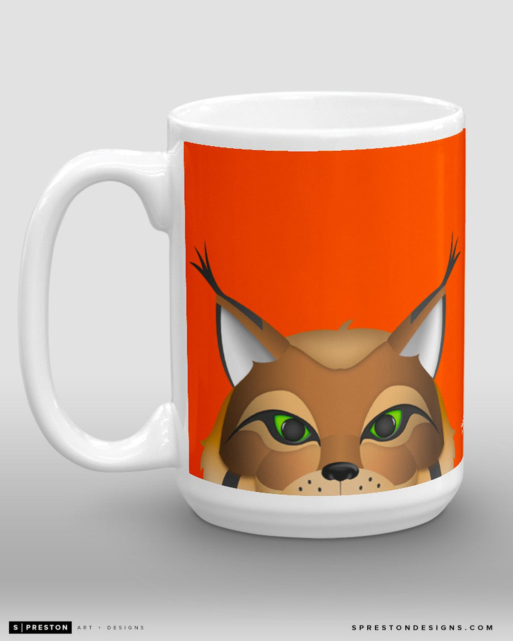 Minimalist Hunter Coffee Mug - NHL Licensed - Edmonton Oilers Mascot