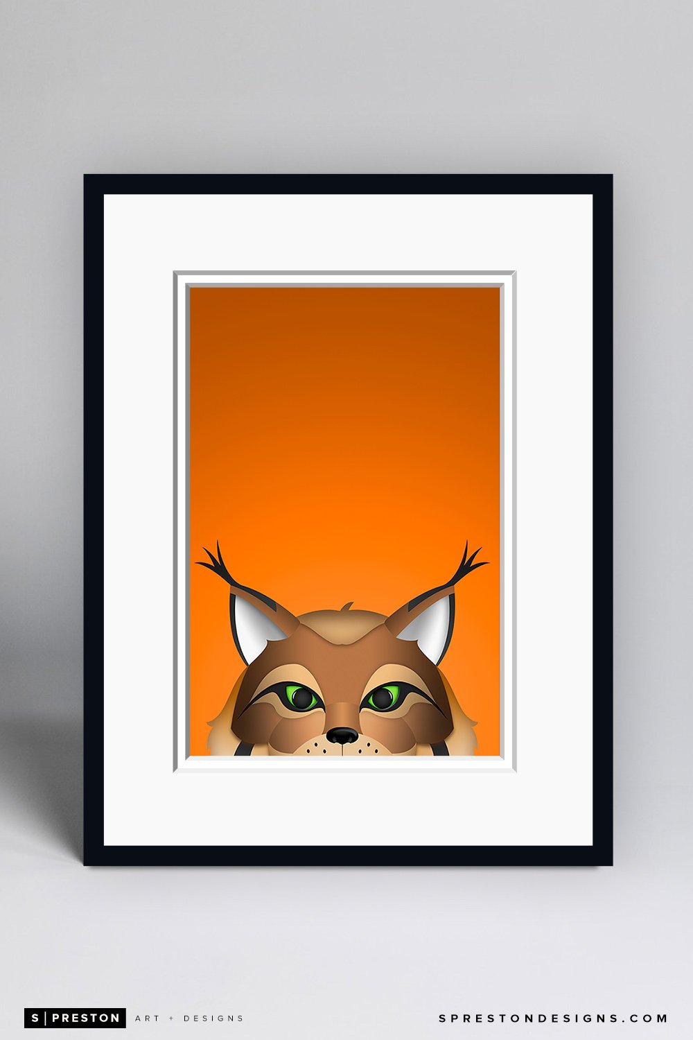 Minimalist Hunter Framed - CLEARANCE