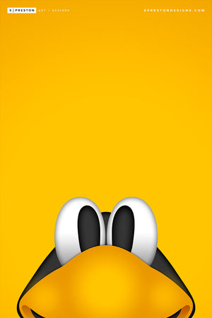 Minimalist Iceburgh - Pittsburgh Penguins - S. Preston