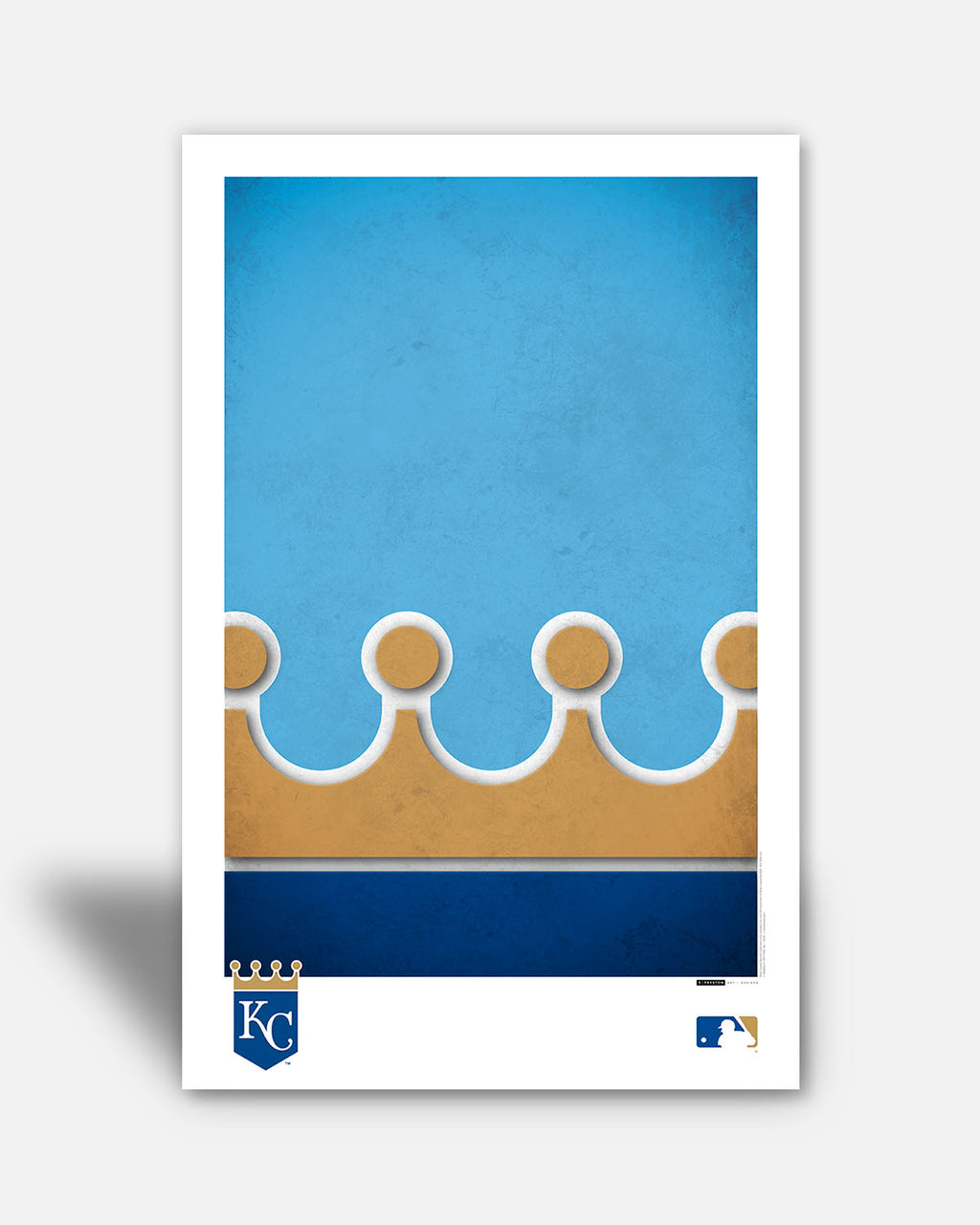 Minimalist Logo - Kansas City Royals
