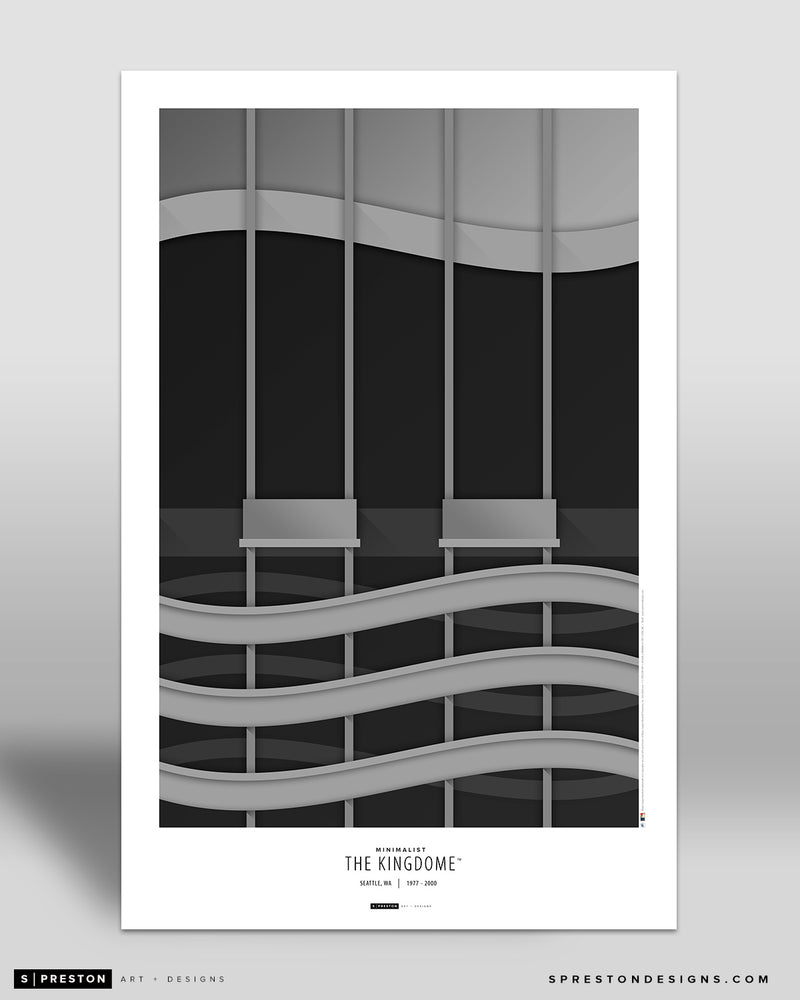 Minimalist Kingdome Art Poster