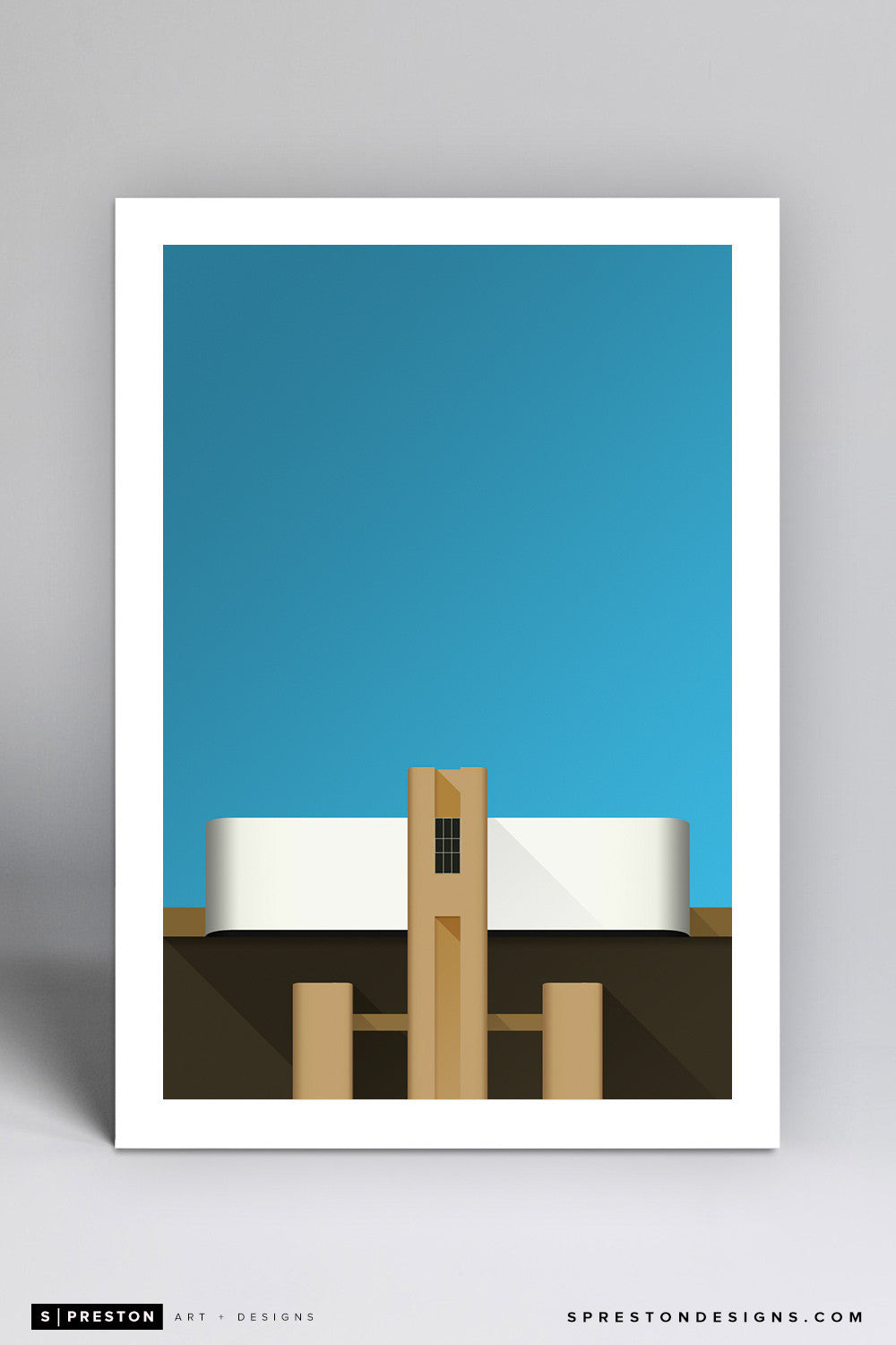 Minimalist Kyle Field - Texas A&M - S. Preston
