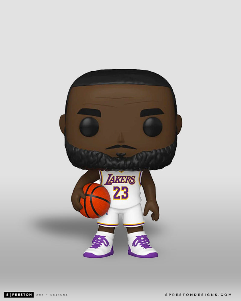Funko POP! - LeBron James Series 5 - NBA