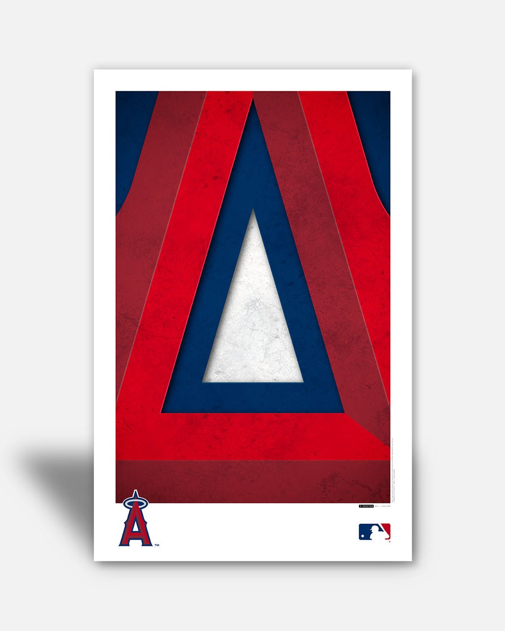 Minimalist Logo - Los Angeles Angels