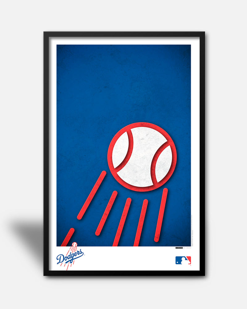 Minimalist Logo - Los Angeles Dodgers