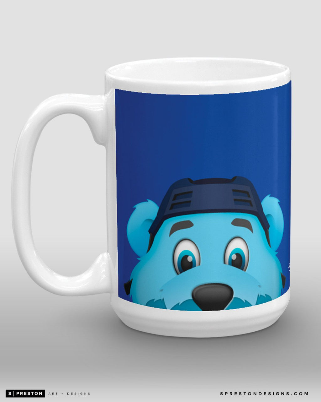 Minimalist Louie Coffee Mug - NHL Licensed - St. Louis Blues Mascot