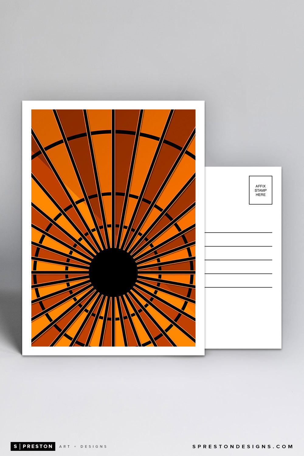 Minimalist Madison Square Gardens Postcard