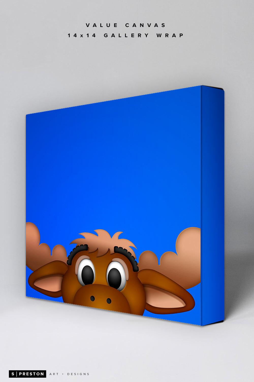 Minimalist Mariner Moose Value Canvas CLEARANCE