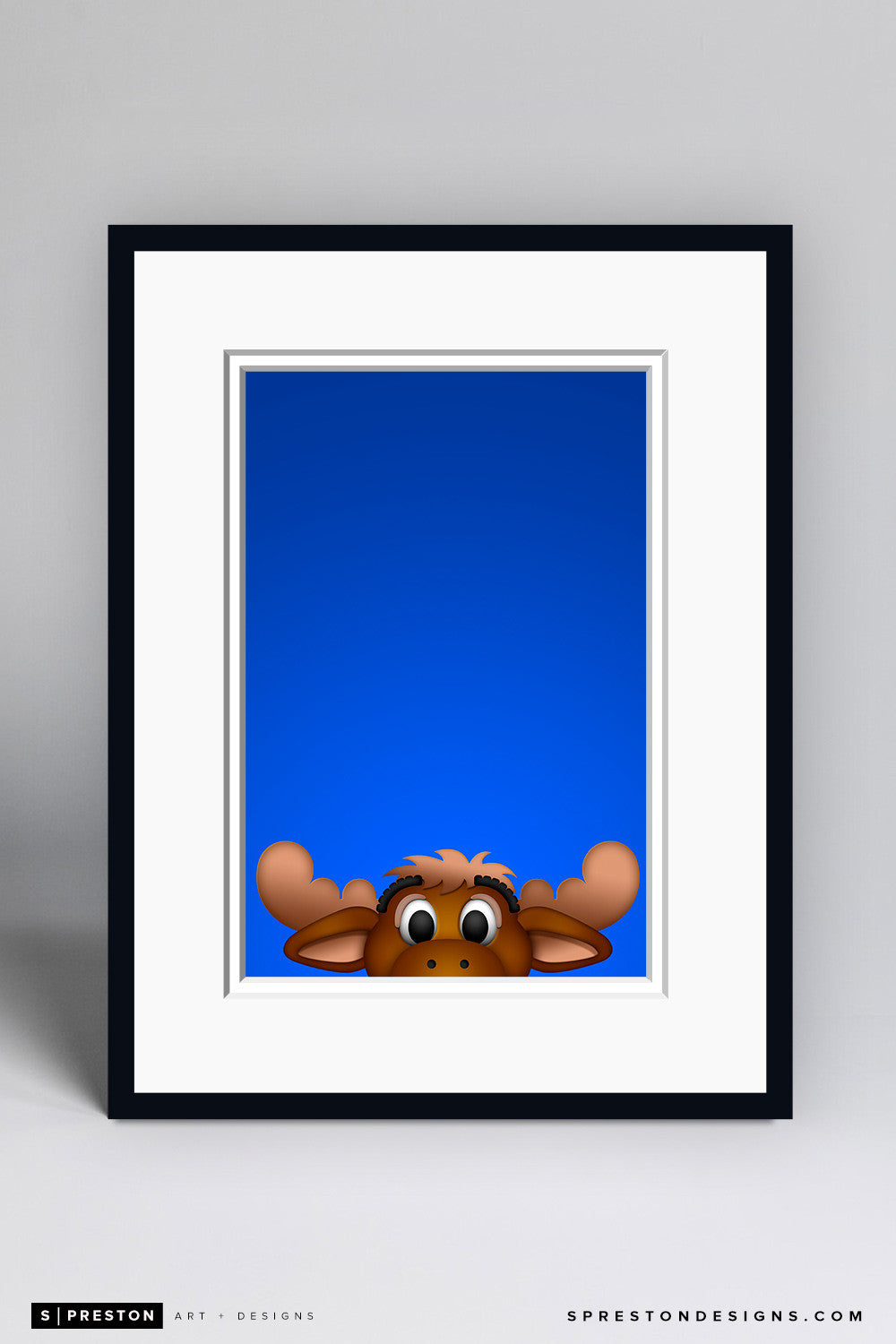 Minimalist Mariner Moose - Seattle Mariners - S. Preston