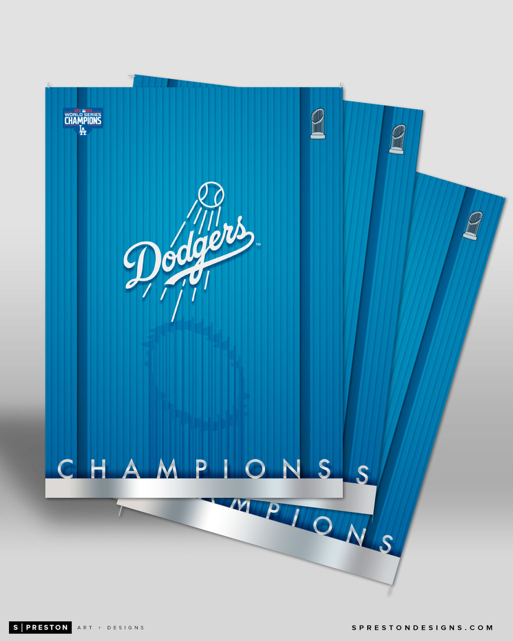 Minimalist World Series 2020 Postcard 5-count Set