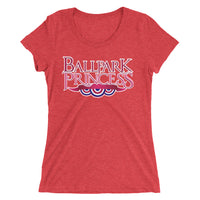 Ballpark Princess Women's Tee Apparel - Ballpark Princess - S. Preston Art + Designs