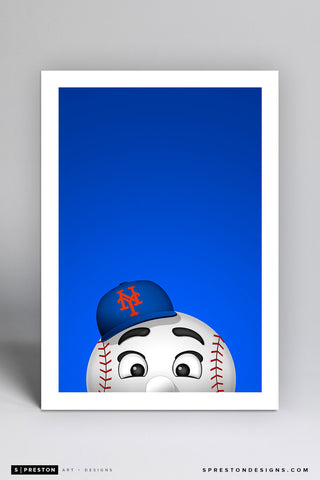 Minimalist Mr. Met