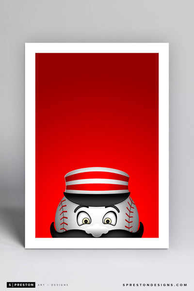 Minimalist Mr. Redlegs