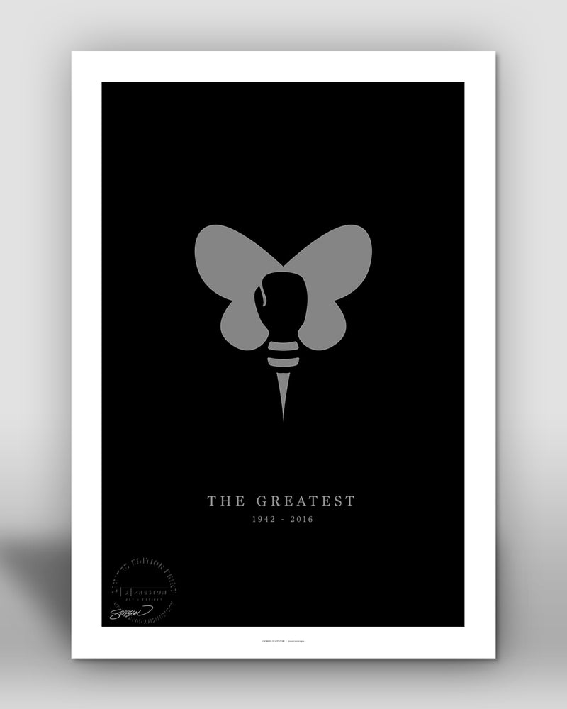 The Greatest - Minimalist Ali Tribute