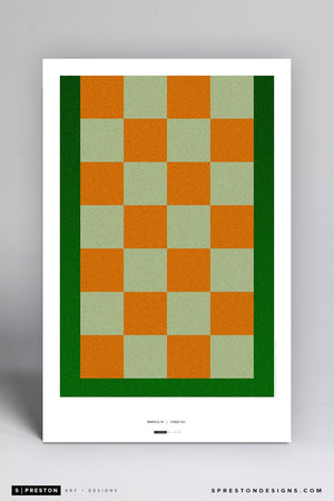 Minimalist Neyland Stadium Poster Print - University of Tennessee - S. Preston Art + Designs