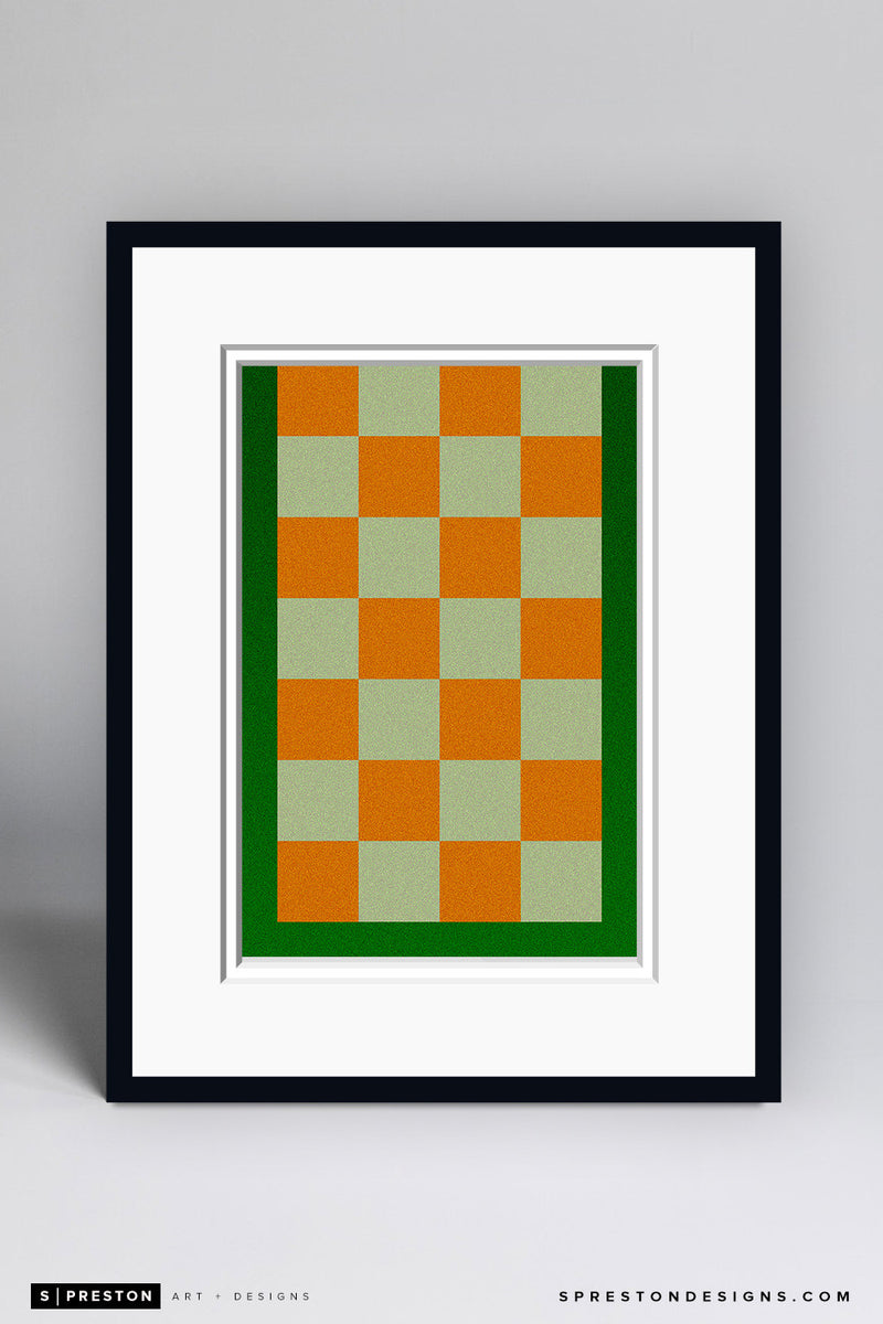 Minimalist Neyland Stadium Art Print - University of Tennessee - S. Preston Art + Designs