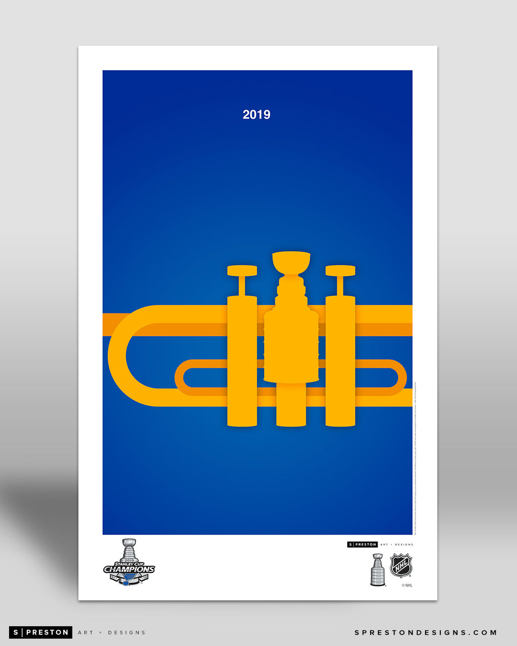 Minimalist Stanley Cup 2019 Art Poster - CLEARANCE