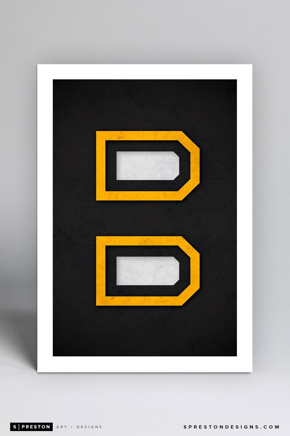 Minimalist Logo - Boston Bruins - S. Preston