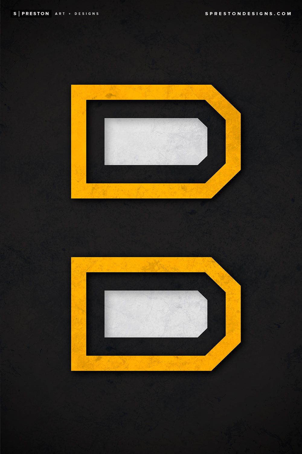 Minimalist Logo - Boston Bruins Art Poster