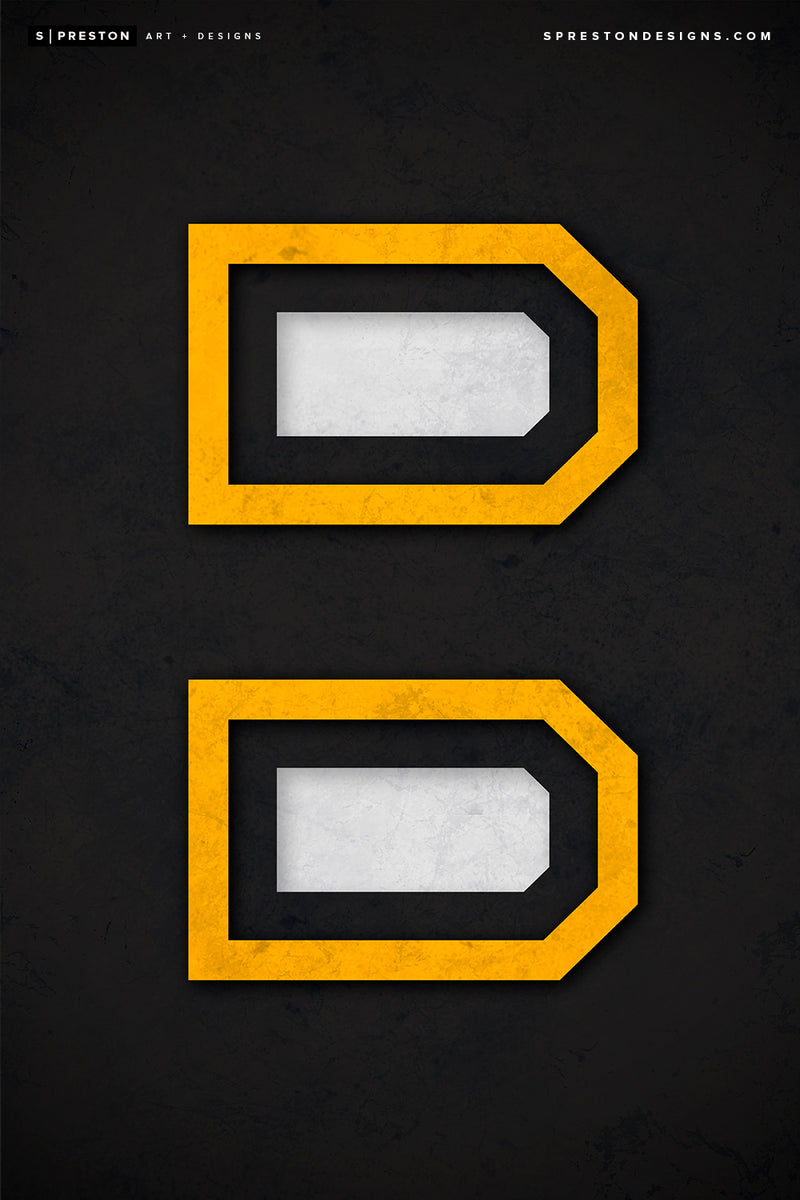 Minimalist Logo - Boston Bruins - Boston Bruins - S. Preston
