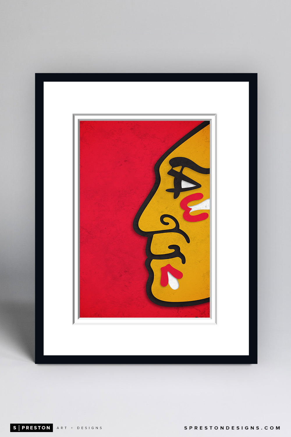 Minimalist Logo - Chicago Blackhawks