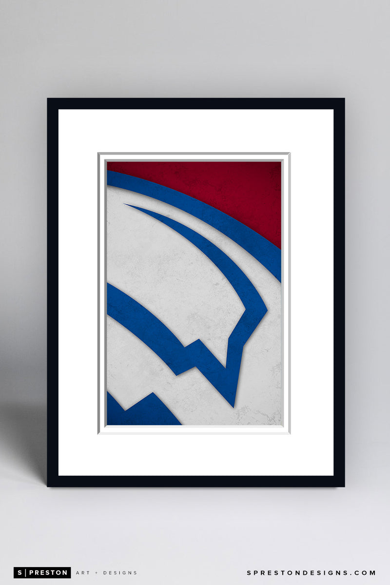 Minimalist Logo - Colorado Avalanche - Colorado Avalanche - S. Preston