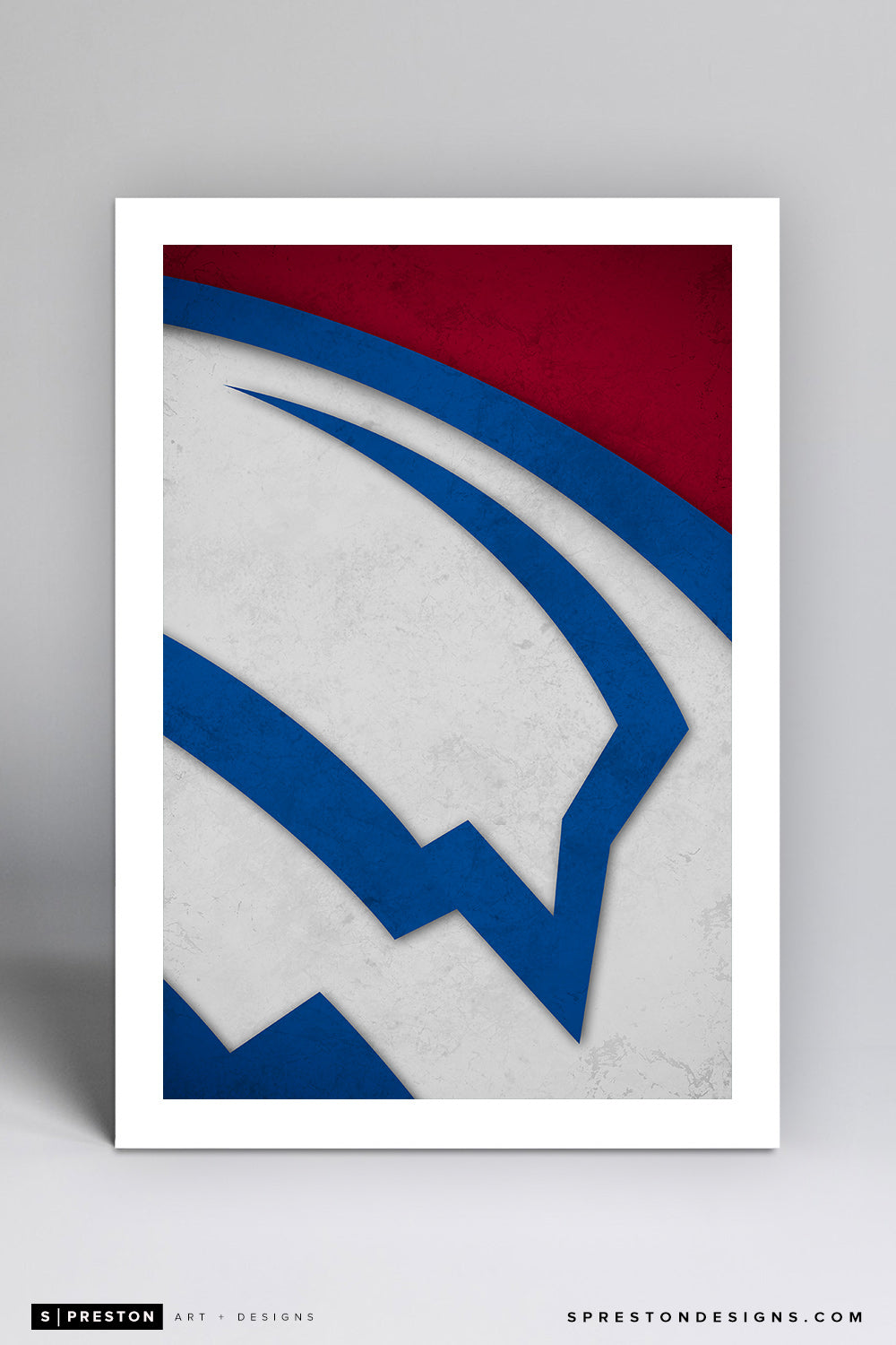 Minimalist Logo - Colorado Avalanche - S. Preston