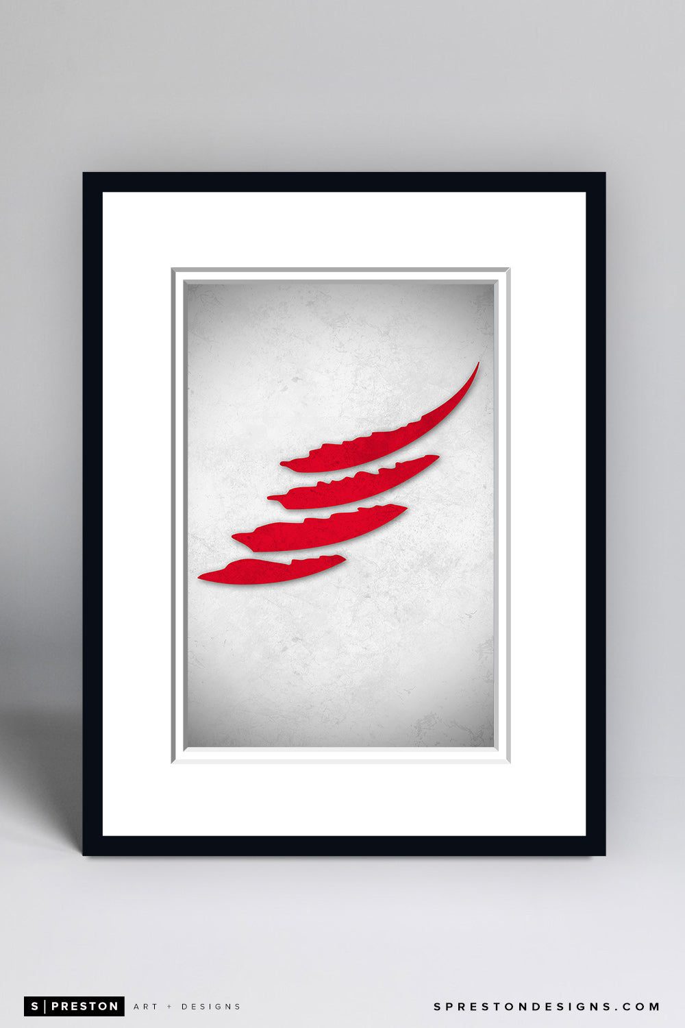 Minimalist Logo - Detroit Red Wings - detroit-red-wings - S. Preston