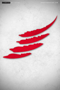 Minimalist Logo - detroit-red-wings Poster Print detroit-red-wings - S Preston