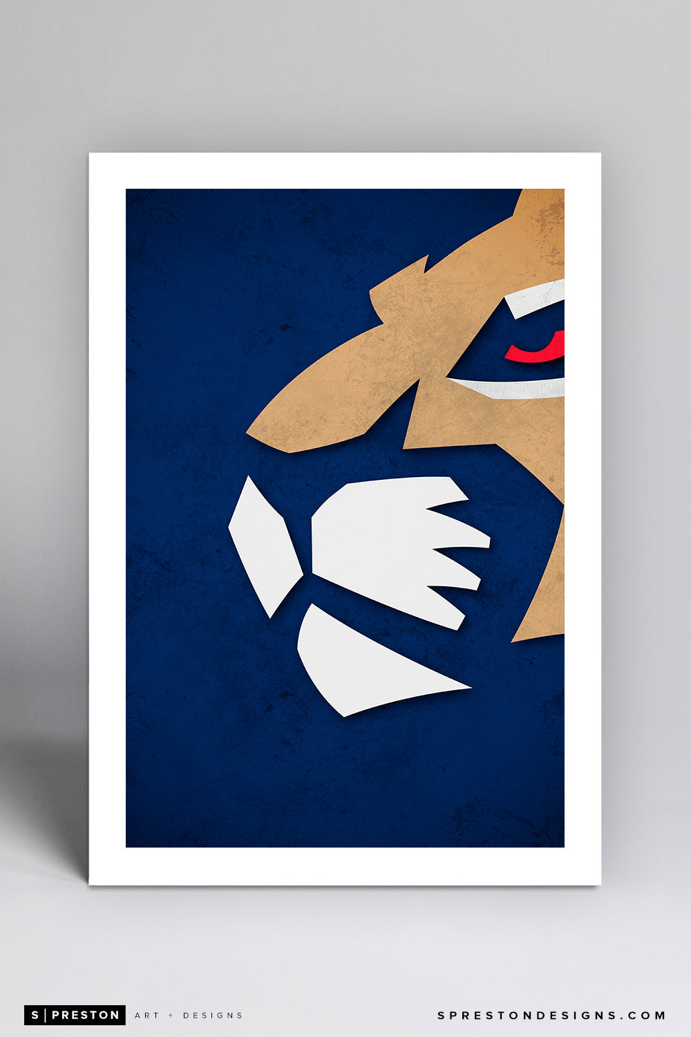 Minimalist Logo - Florida Panthers - Florida Panthers - S. Preston