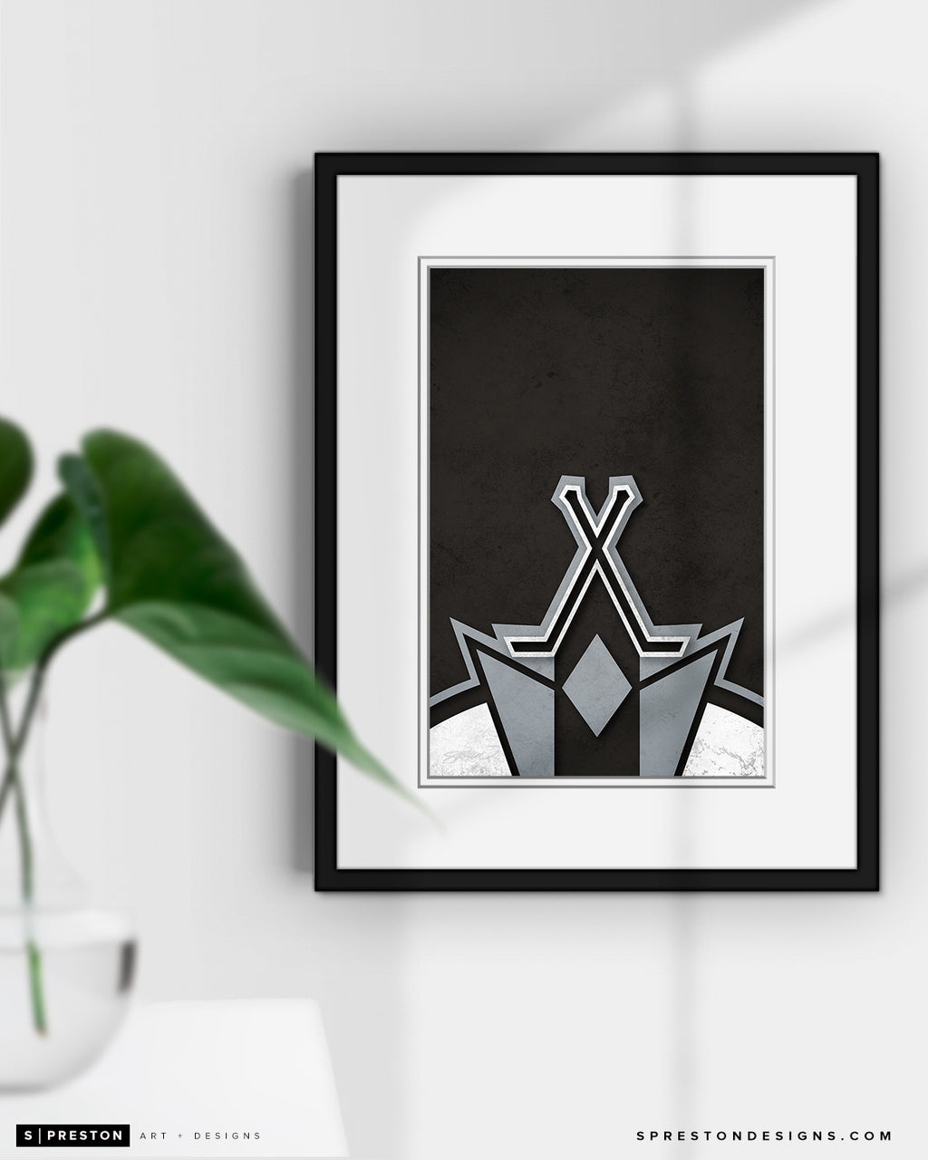 Minimalist Logo - Los Angeles Kings - Los Angeles Kings - S. Preston