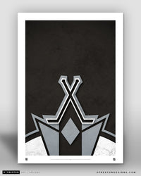 Minimalist Logo - Los Angeles Kings