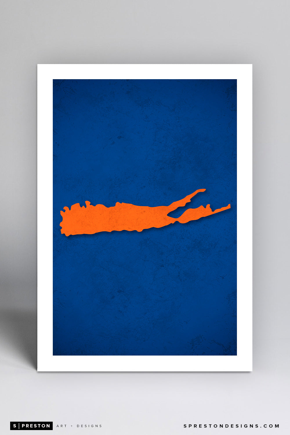Minimalist Logo - New York Islanders - S. Preston