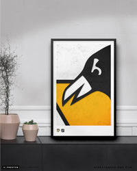 Minimalist Logo - Pittsburgh Penguins Poster Print Pittsburgh Penguins - S Preston