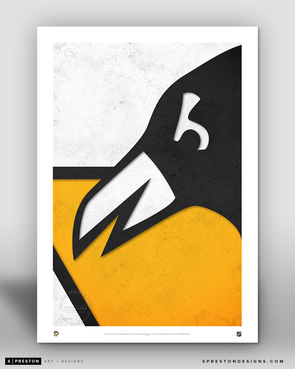 Minimalist Logo - Pittsburgh Penguins