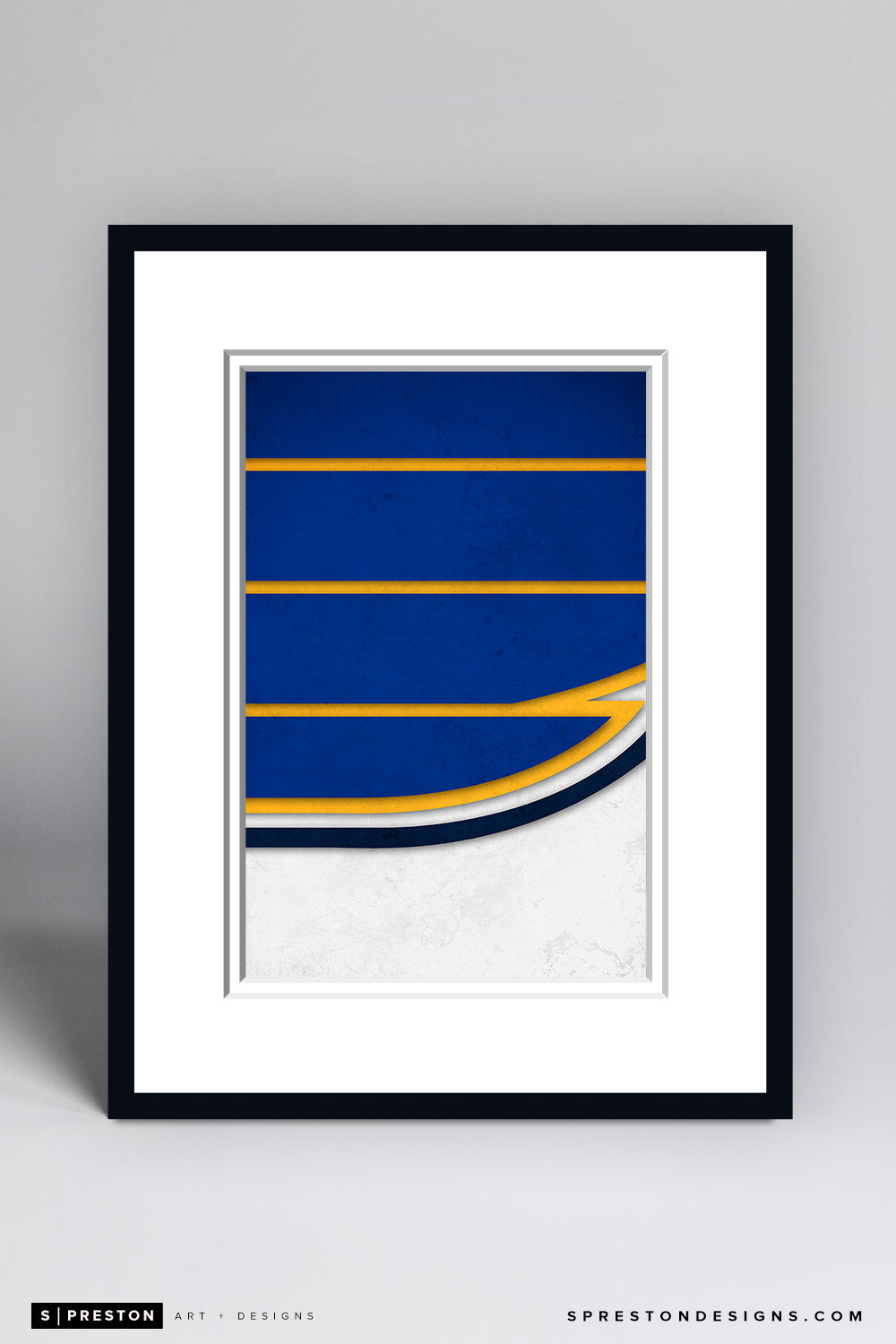 Minimalist Logo - St. Louis Blues