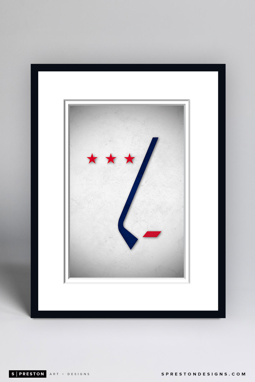Minimalist Logo - Washington Capitals - Washington Capitals - S. Preston