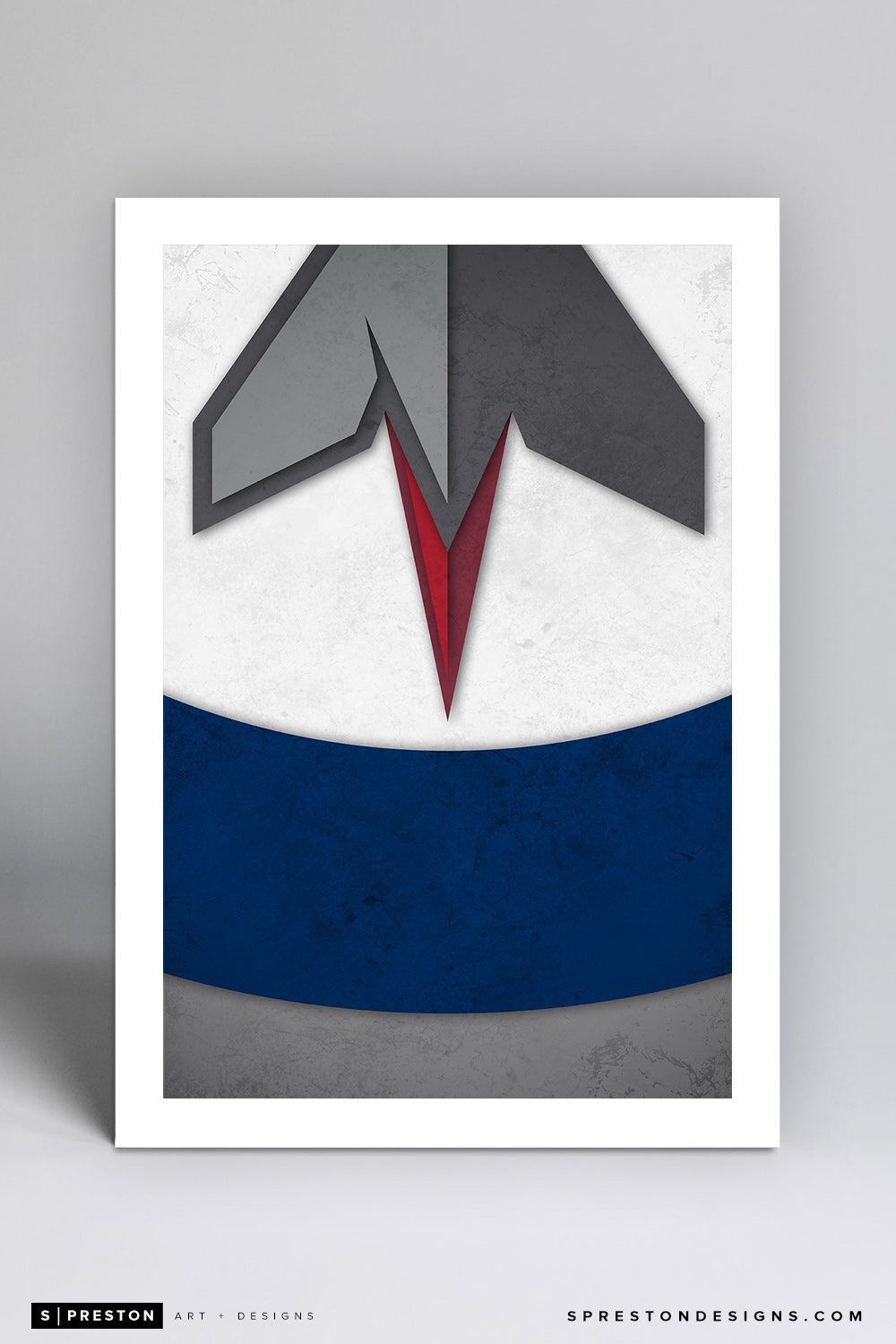 Minimalist Logo - Winnipeg Jets - Winnipeg Jets - S. Preston