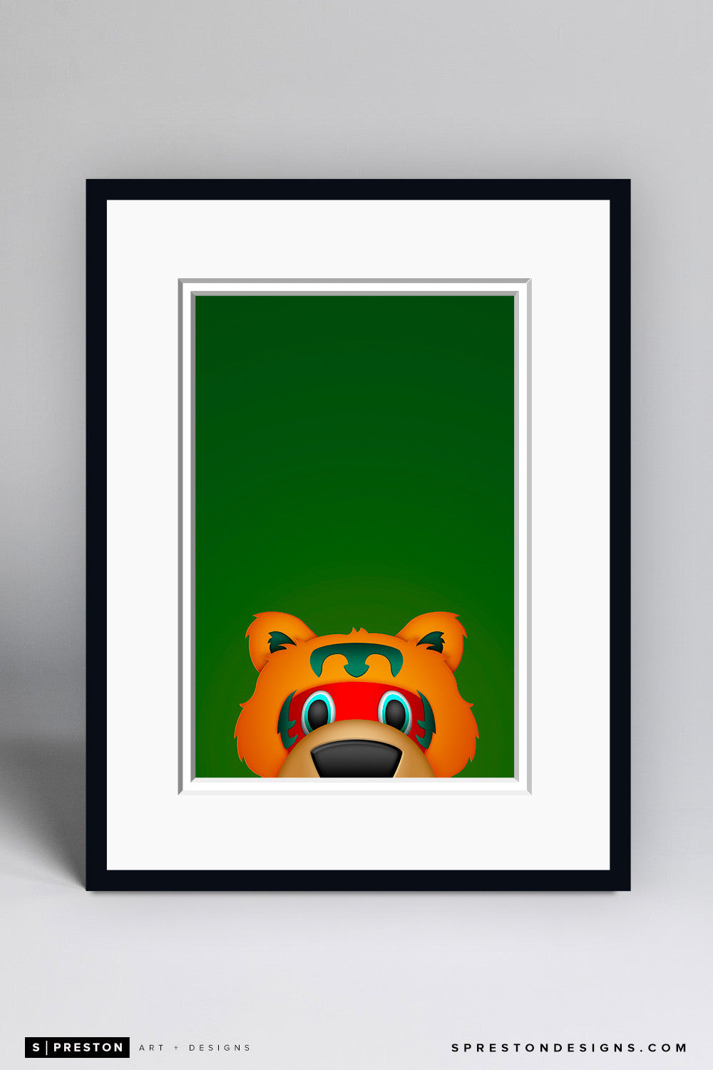 Minimalist Nordy Art Print - Minnesota Wild - S. Preston Art + Designs