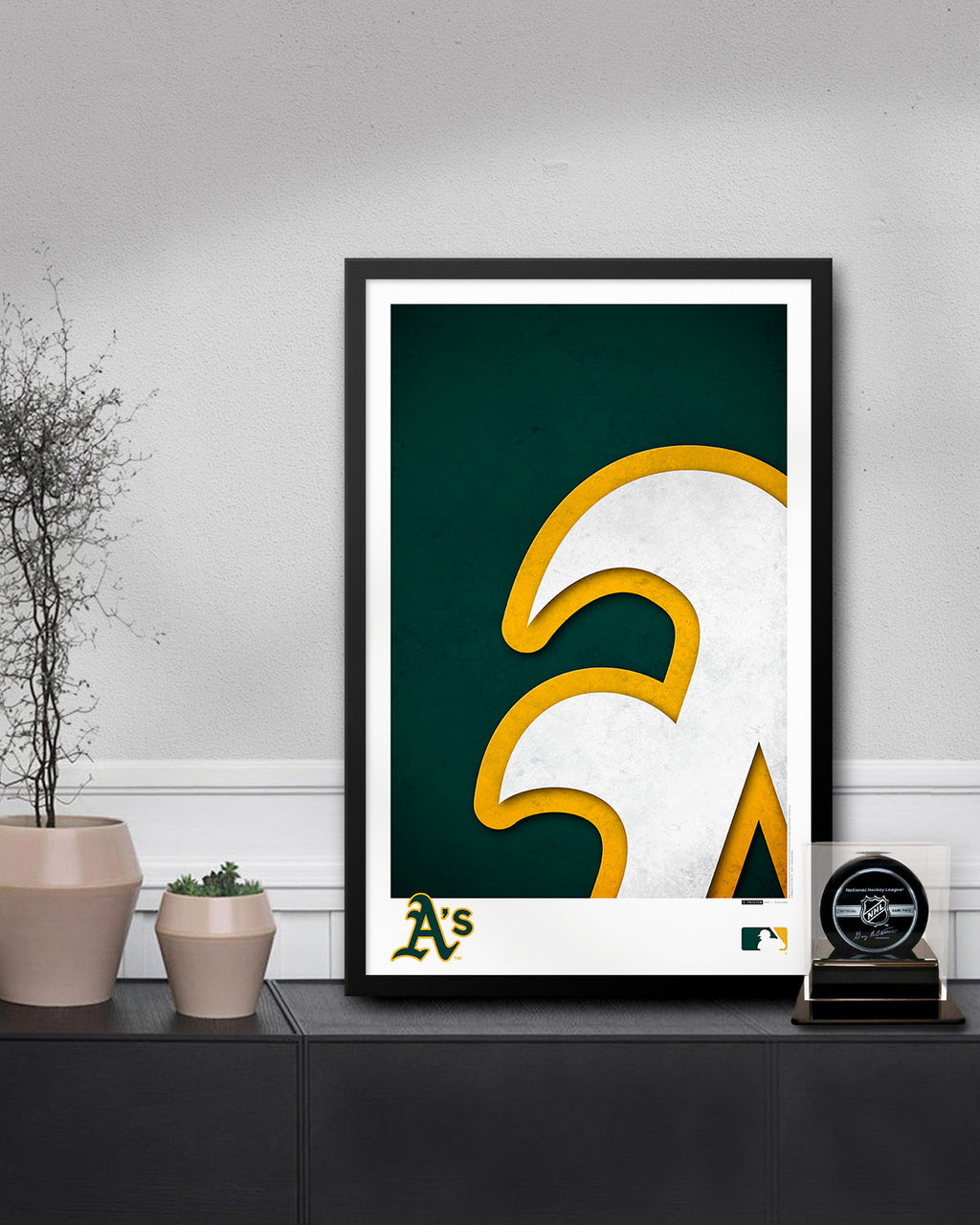 Minimalist Logo - Oakland Athletics