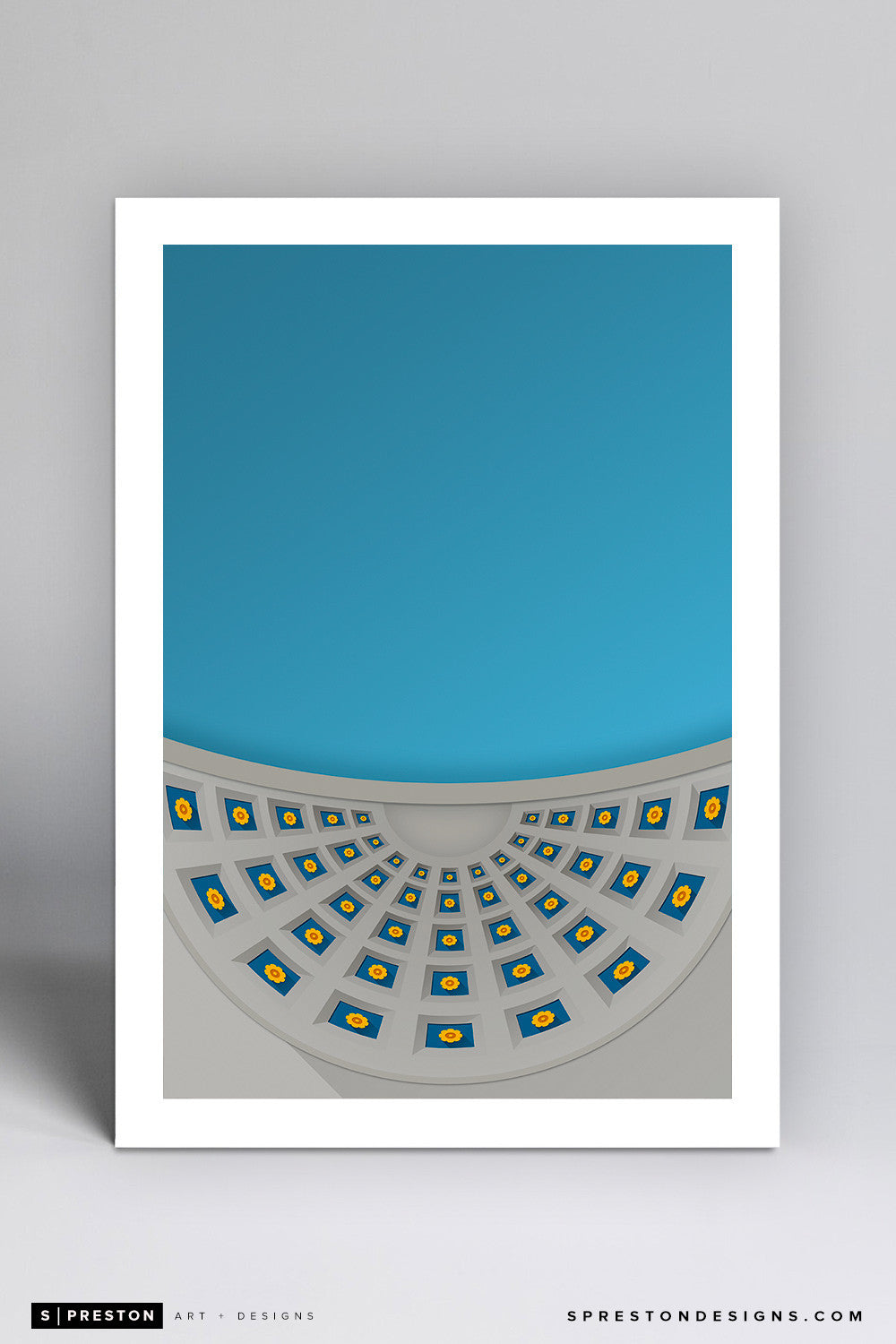Minimalist Ohio Stadium Art Print - Ohio State University - S. Preston Art + Designs