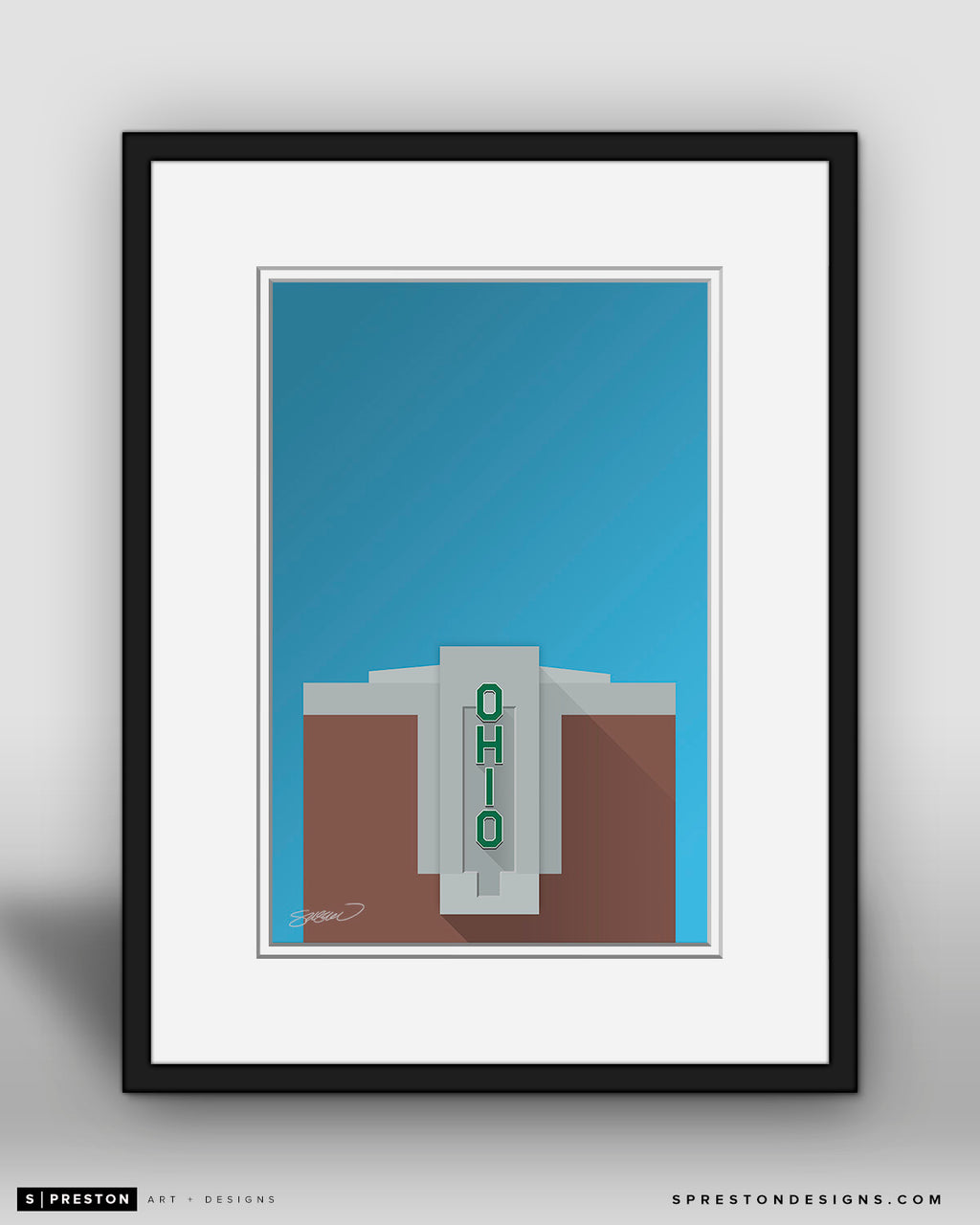 Minimalist Peden Stadium - Ohio University - S. Preston