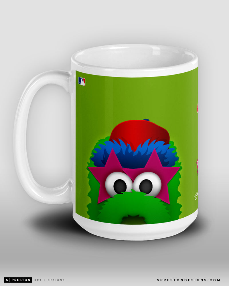 Minimalist Phillie Phanatic Coffee Mug