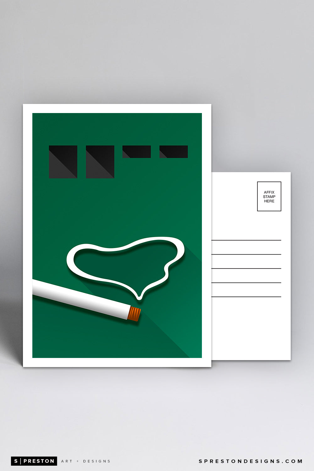 Minimalist Polo Ground Postcard