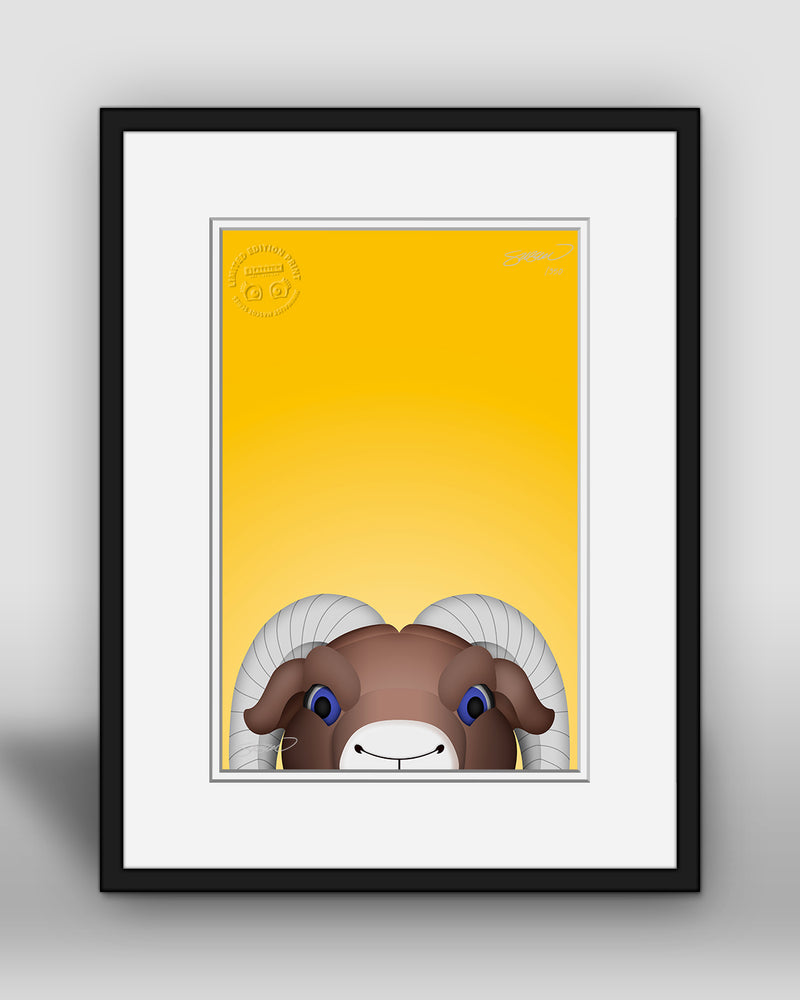 Minimalist Rampage - Los Angeles Rams - S. Preston