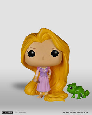 Funko POP! - Rapunzel with Pascal