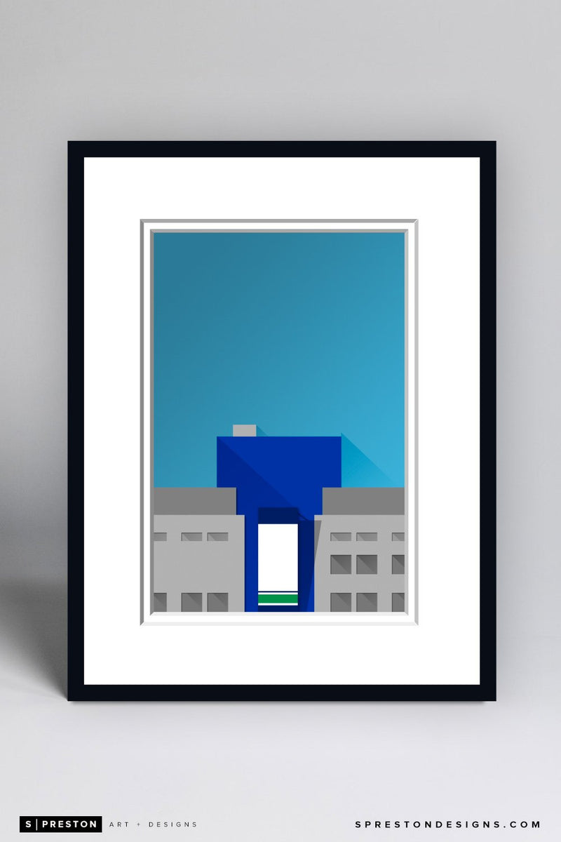 Minimalist Rogers Arena Framed - CLEARANCE