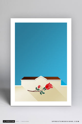 Minimalist Rose Bowl