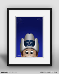 Minimalist Rowdy - Dallas Cowboys - S. Preston